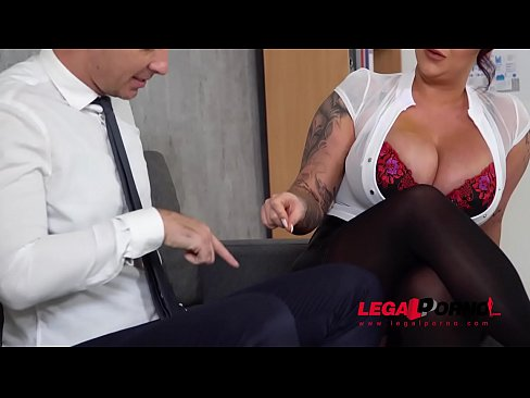 top-heavy boss harmony reigns gets fucked hard by co-worker at the office gp231