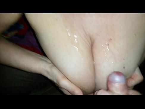 big tits big load