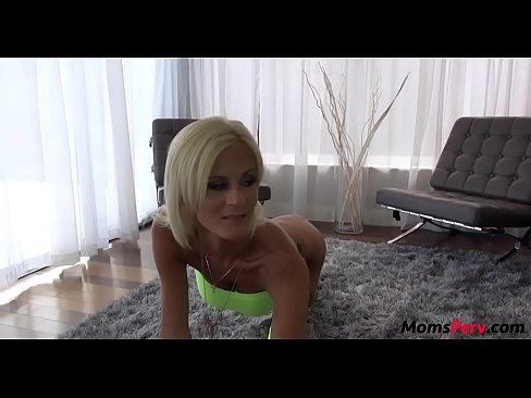 Sneaky slut mom fucks casual sex partner