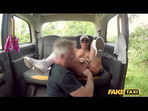 fake taxi anal