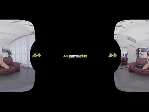virtualpee - piss play fingering - virtual porn