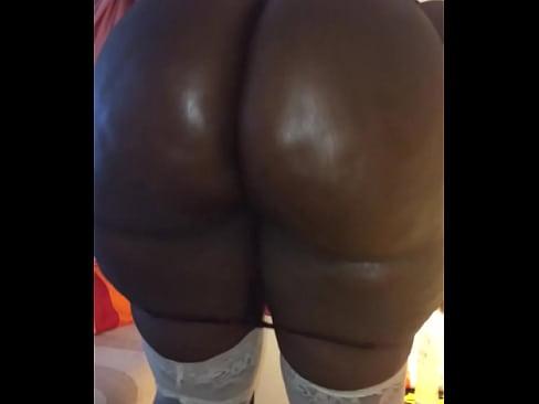 Oily ass