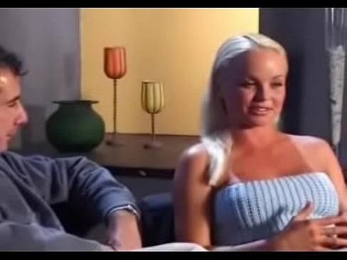 Chubby blond video
