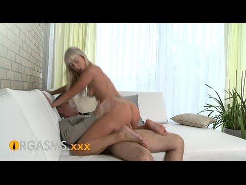 ORGASMS HD Hot young blonde makes his cock rock hard