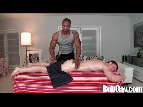 interracial massage on rubgay