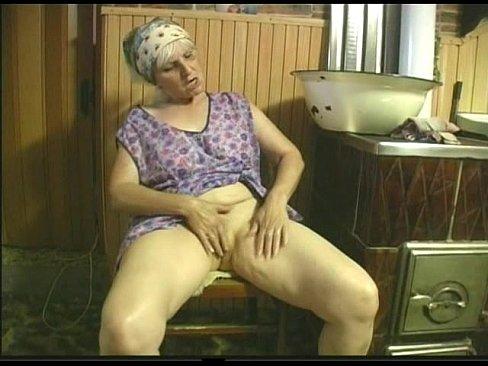 Big boob old grannie women movies