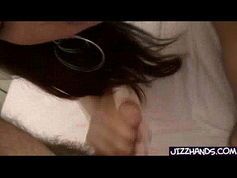 Asian beauty gives a  hand jobXXX Sex Videos 3gp