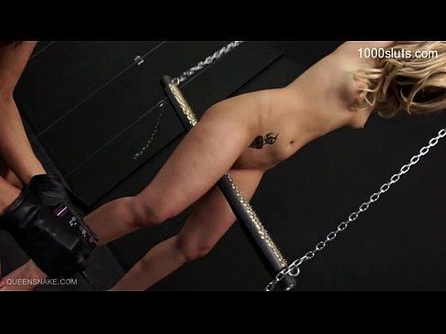Sizzling mannequin bondage hot gang bang
