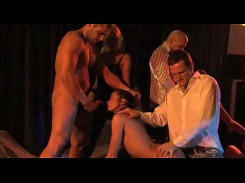 Brutal anal orgies