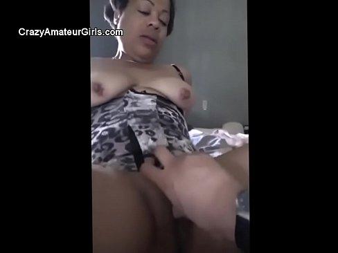 Amateur Ebony Milf Creampie