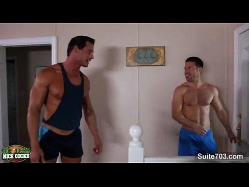 Hot Muscle Guys Fuck Till Cumshot