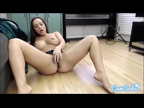 Abigail Mac MASTURBATION Big TITS orgasm