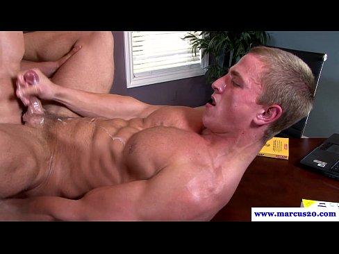 Autofellatio gay best blow job video