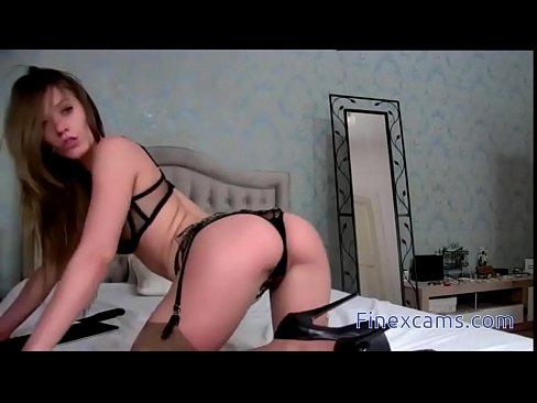 Teen lingerie strip