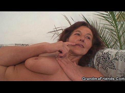 Nude granny video