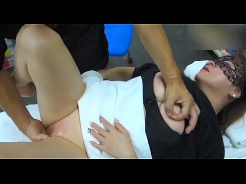 Amateur video of wife massaging husband
