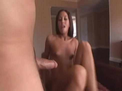 horny brunette gets ass fucked