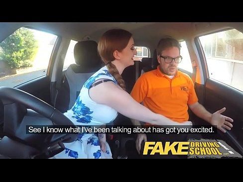 Download Video Bokep Fake Driving School Posh Freaky Redhead With Bi