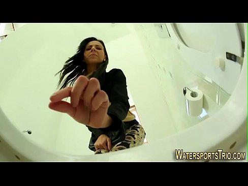 Wet pee hot fetish skank nice pissing