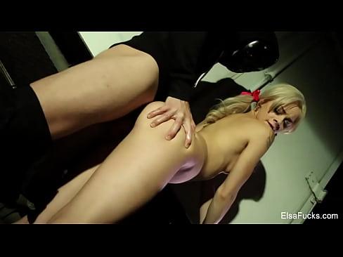 Elsa Jean fucks a masked stranger XXX Sex Videos