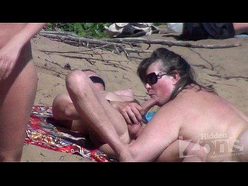 Nude beach voyeur can
