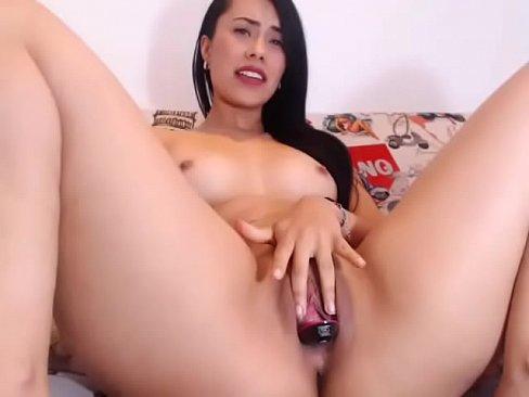 Big booty masturbation