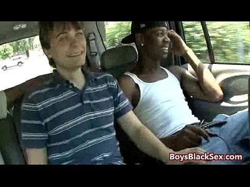 Huge Black Cock for Tiny White Boy Tube Video 12's Thumb