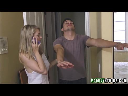 Teen Step Sister Alli Rae Fucked By Sleepwalking Brother