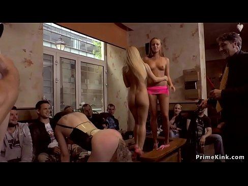 Hot Cheerleader Under The Shower