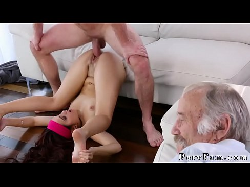 The First time anal daughter with daddy