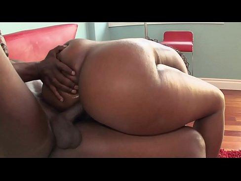Muscular hunk giving ass treatment
