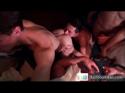 Tyler sweet in huge gay orgy videos