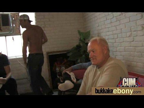 Ebony Dude Sucks Multiple Dicks
