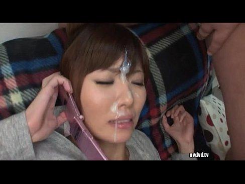 Japanese television bukkake