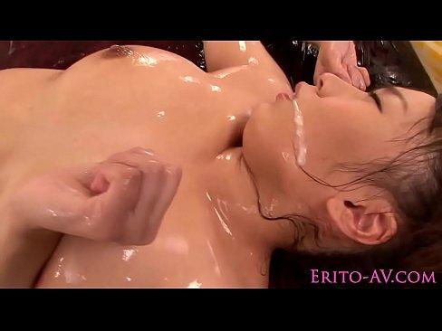 image Japanese milf avstar spoils her fan as she gets facialized
