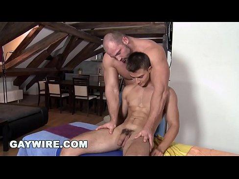Massage gay cock anal img