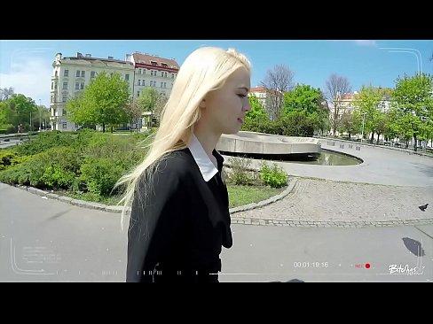 BITCHES ABROAD – Hot Polish blonde tourist Misha Cross fucked POV in Prague