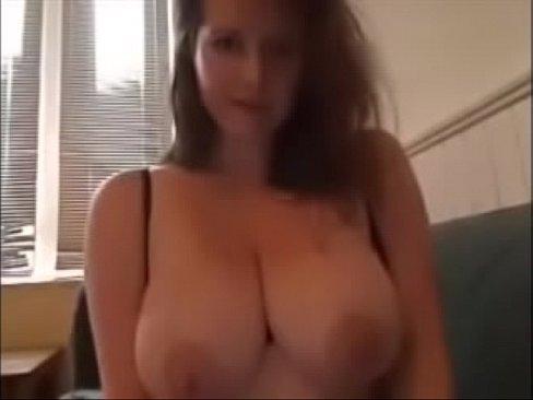 sexy brunette milf plays on cam part 1 - part 2 at alltitsnbits.com