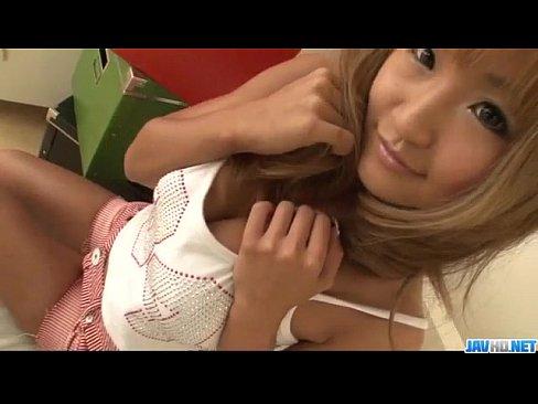 Kurea mutou blonde bimbo provides amazing bl 7