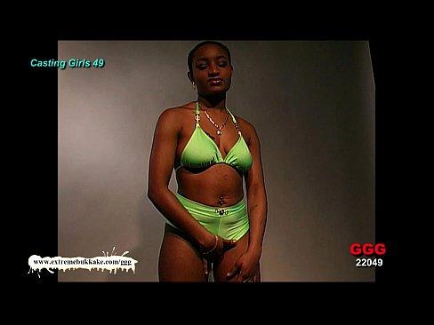 Ebony Babe Audry The Cum Target – Extreme Bukkake
