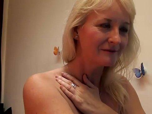 Mature blonde naked girl