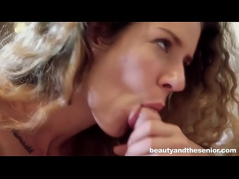 young maid fucks her old house owner before wife gets home