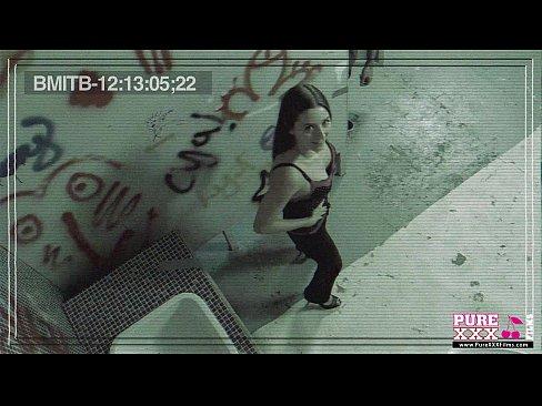 PureXXXFilms Innocent Teen Gets Fucked in the Bathroom