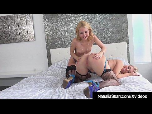 cover video natalia starr scissor fucks aaliyah love in lingerie and heels