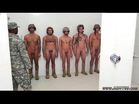 Army gay porn video