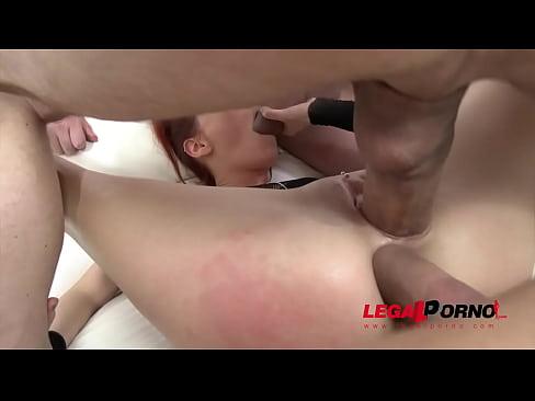 Skinny Ass Susana Melo Airtight DP & DAP With Three Anal Creampies