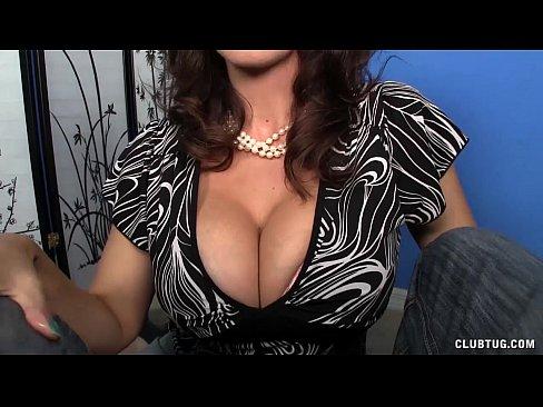 Small Blonde Big Tits Milf