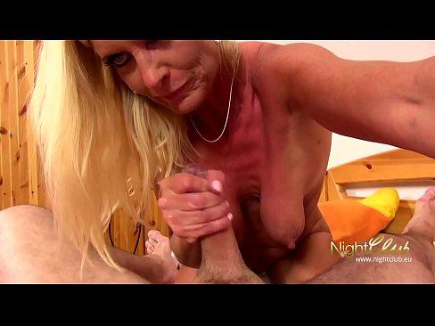 Blond Milf vs Big Cock