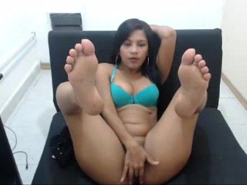 Sexy Latina Lesbian Threesome
