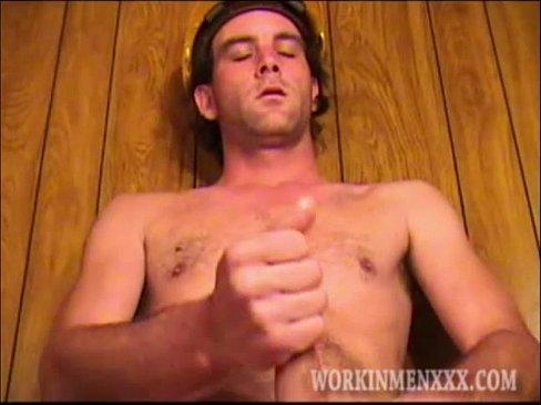 Mature Man William Jerks Off's Thumb